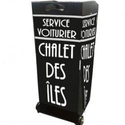 PUPITRE CHALET DES ILES - RESTAURANT PARIS 16