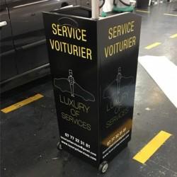LOCATION PUPITRE VOITURIER LUXURY OF SERVICES