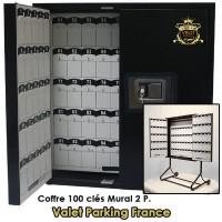 COFFRE MURAL 100 CLES VOITURIER VALET PARKING