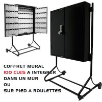 COFFRE MURAL 100 CLES VOITURIER