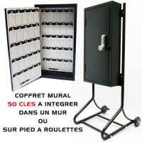 COFFRE MURAL 50 CLES VOITURIER