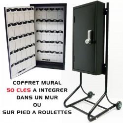 COFFRE MURAL 50 CLES VOITURIER VALET PARKING