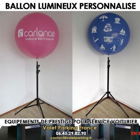 BALLON LUMINEUX PERSONNALISE VOITURIER