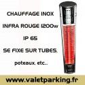 CHAUFFAGE INOX INFRA ROUGE